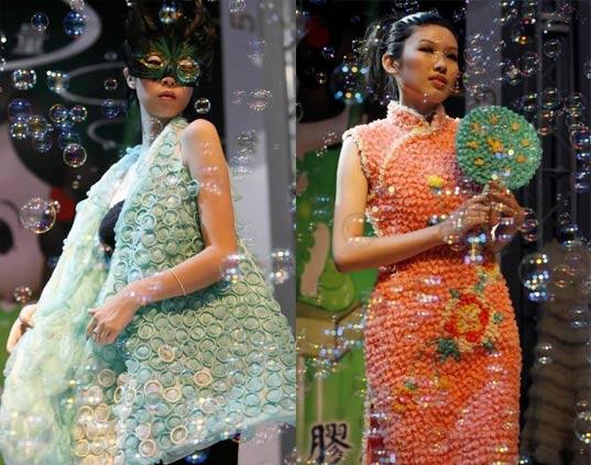 Would YOU Wear A Condom Dress?