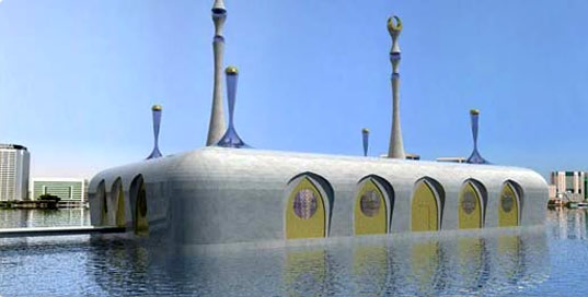Koen Olthuis, Waterstudio, Waterstudio.nl, floating mosque, Dubai