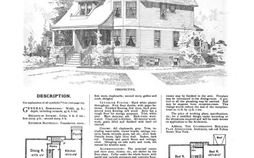 Robert W. Shopell's design no. 1265 from 101 Turn-of-the-Century House Designs