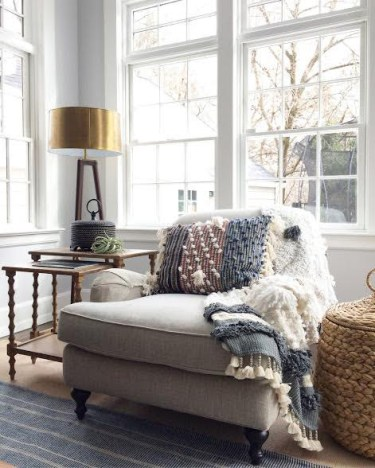 By layering style elements and having a clear color palette,  you can create flexibility to blend an unconventional mix of styles in the farmhouse.