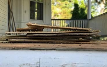 No. 139 Maplewood Ave Porch Restoration