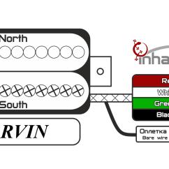 Seymour Duncan Wiring Diagram Ibanez Bmw E39 Cooling System Цветовые схемы звукоснимателей — Inhalath