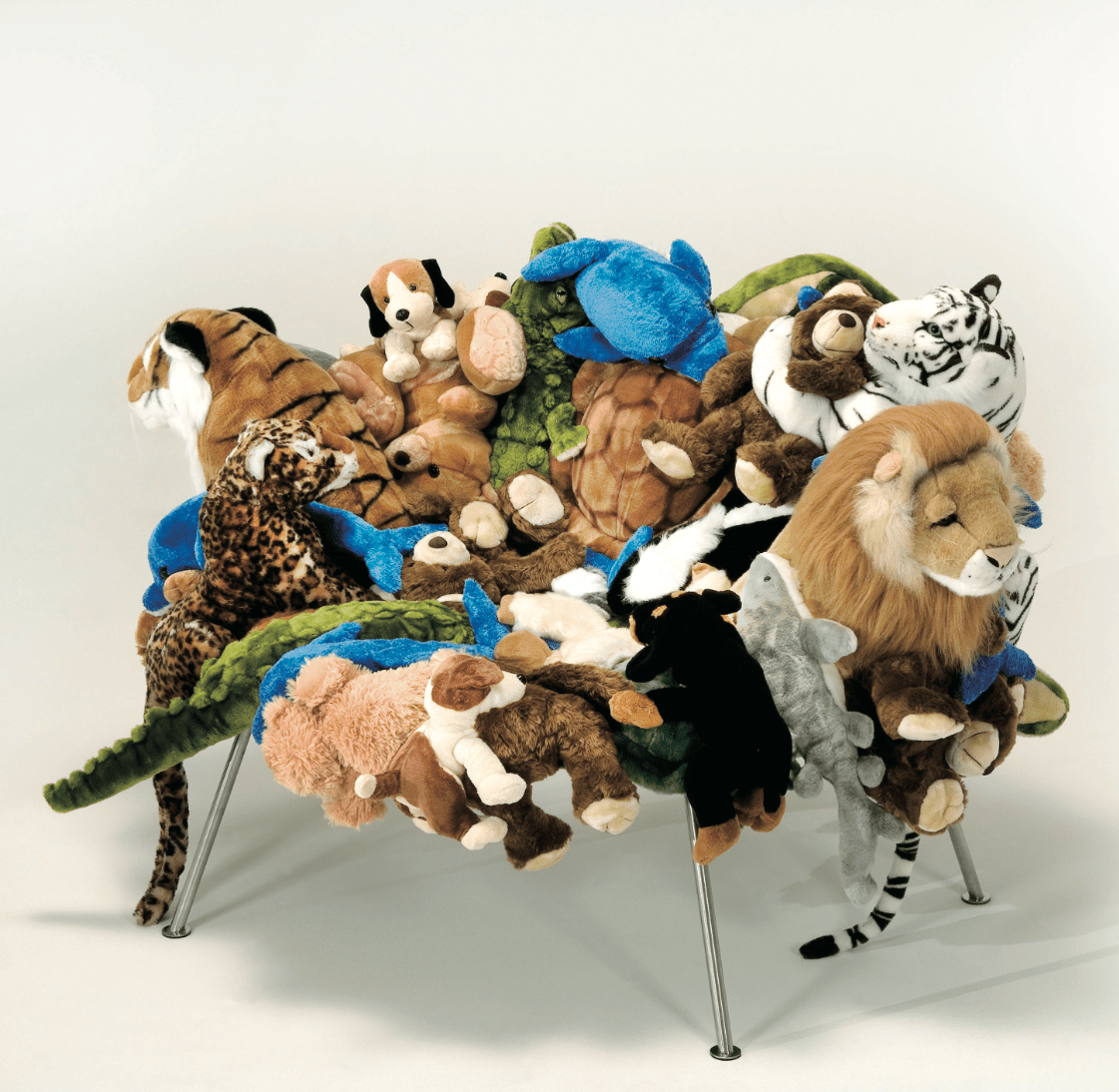 stuffed animal chair office lobby chairs inhale mag the campana brothers a retrospective