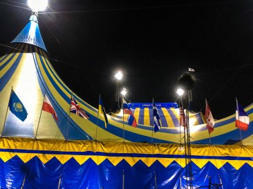 Kurios by Cirque du Soleil, Boston 2016, photo ©Edward Main