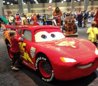 Lightning McQueen LEGO Kidsfest Hartford ~ photo by Edward Main
