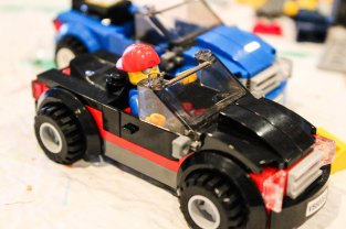 LEGO racecar ~ photo by Edward Main