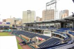 Dunkin Donuts Park First Base Line Photo-by-Edward-Main