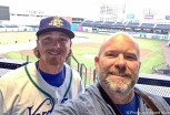 Selfie with James Ferris Media Day 2017 Hartford Yard Goats Photo-by-Edward-Main