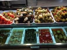 Olives, Peppers, Sticks