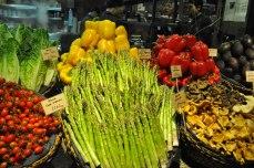 Vegetable display