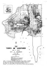Plan for the Town of Gosford 1886. Source: Gosford City Library