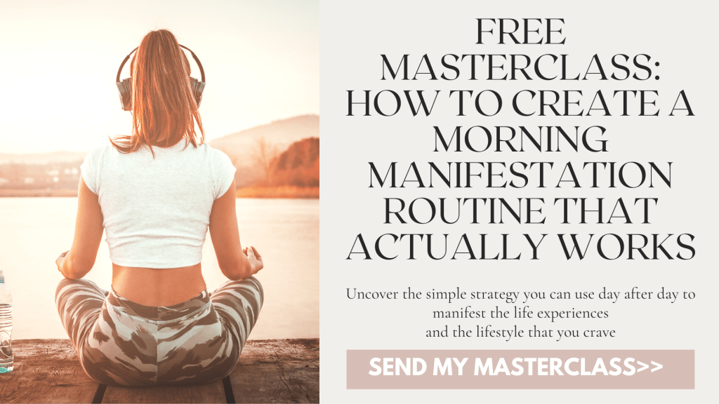 how to create a morning manifestation routine that works