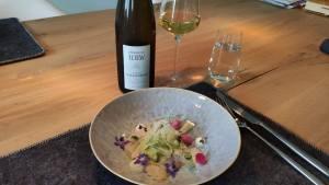 Ceviche met wijn van Domaine Loew