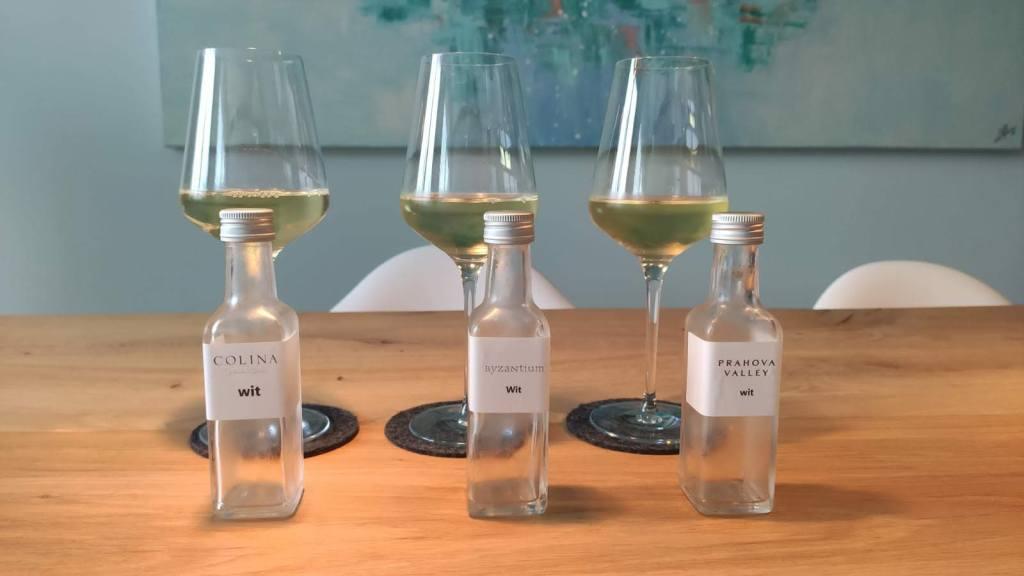 Proeverij witte wijn Roemenië