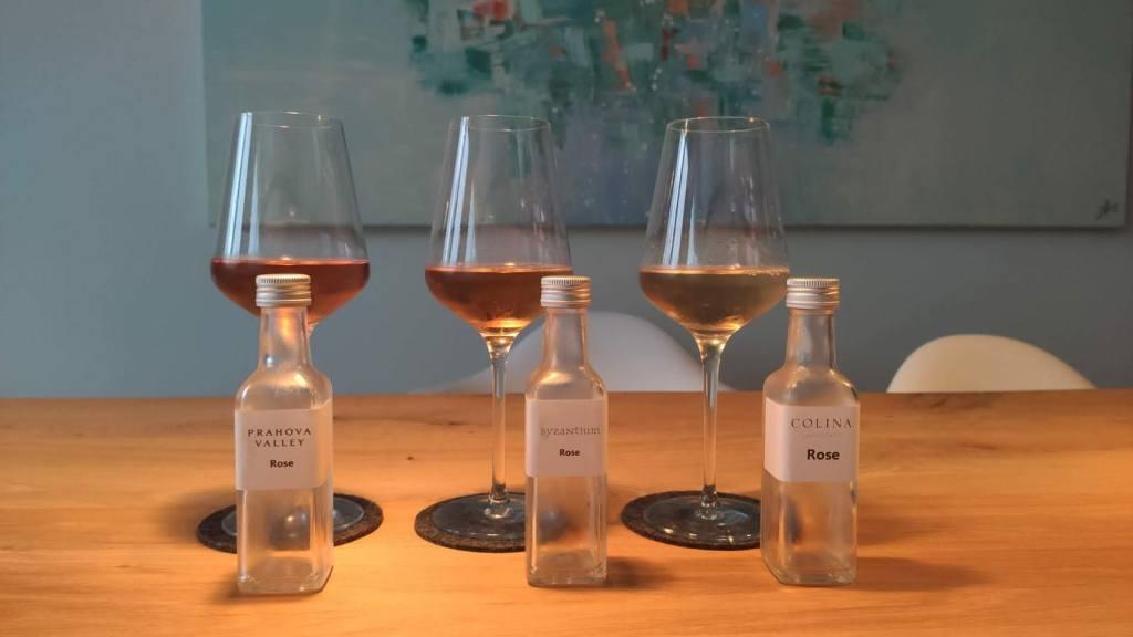 Proeverij rosé wijn Roemenië