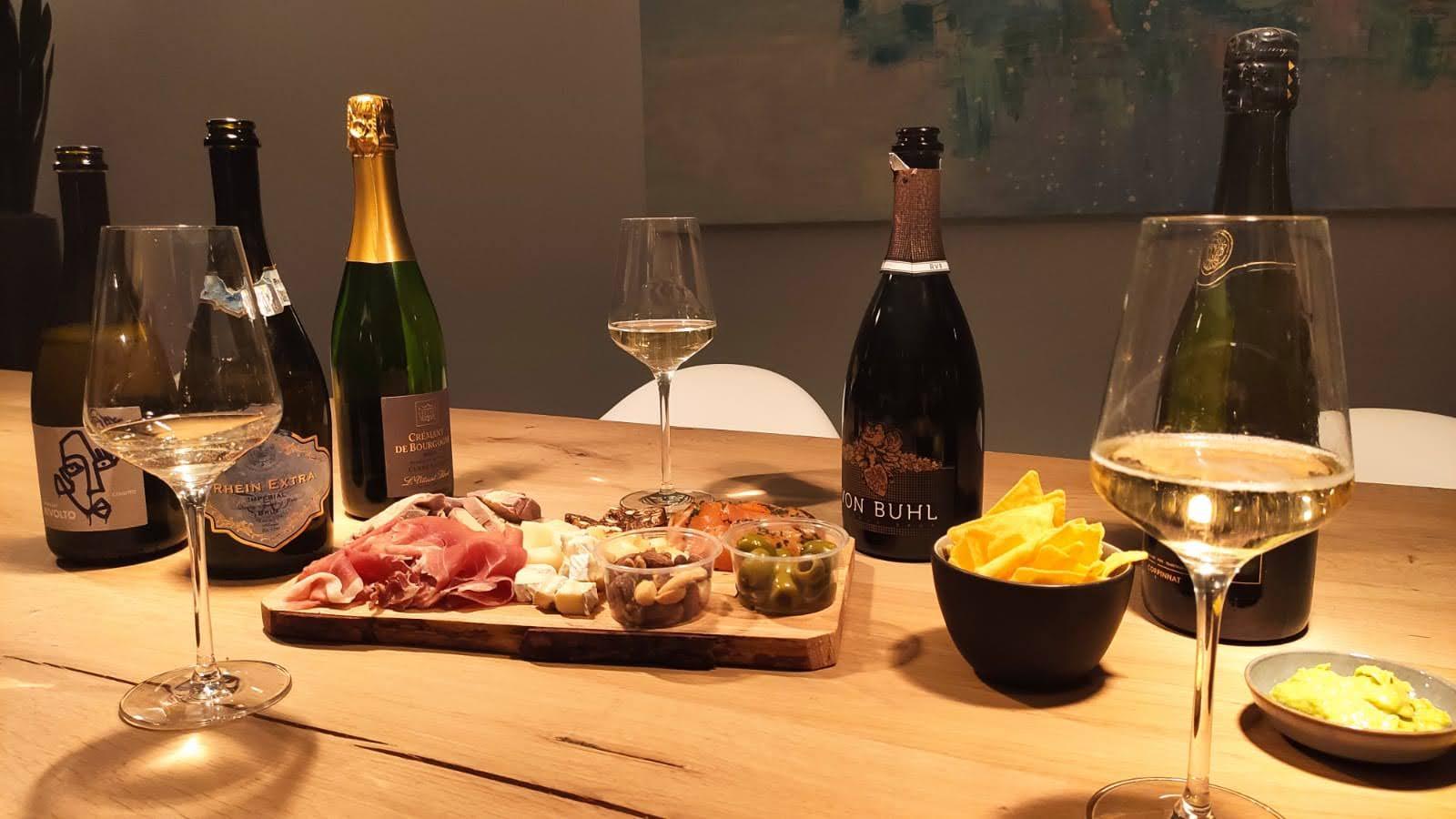 5 Alternatieven voor champagne met lekkere hapjes