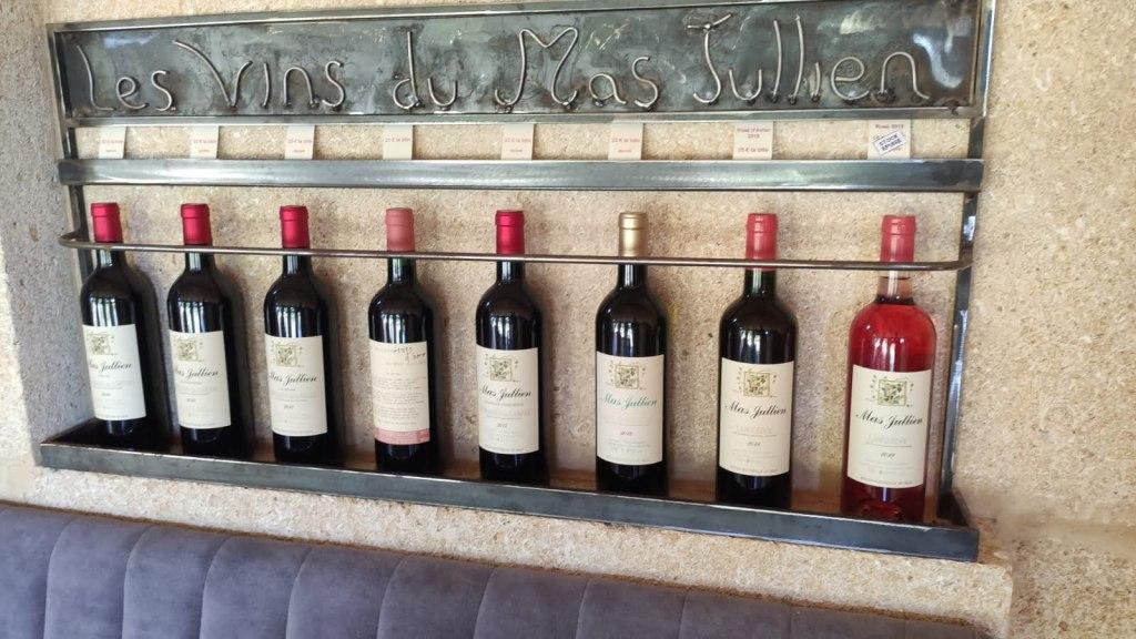 Wijnen Mas Jullien - wijnhuis Languedoc