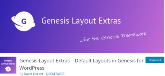 Plugins for Genesis Framework
