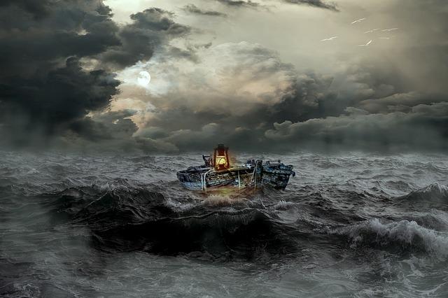 Jesus Calms The Storm  Mark 4:35-41