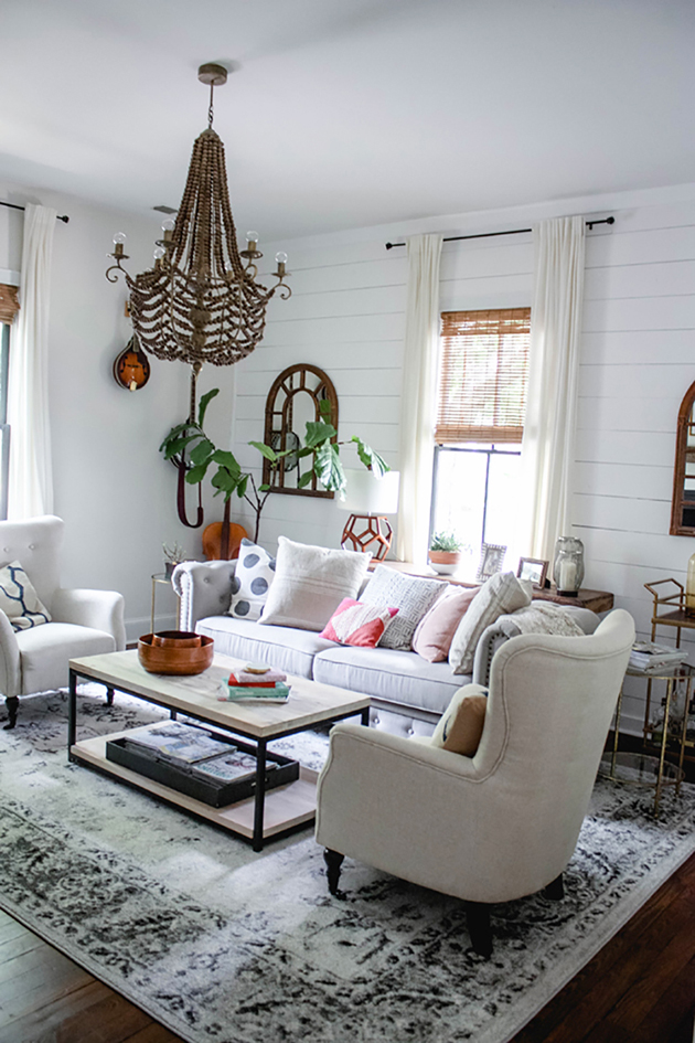 Style Swap Challenge Living Room Makeover In Honor Of