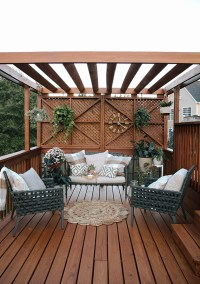 Back Patio Makeover | In Honor Of Design