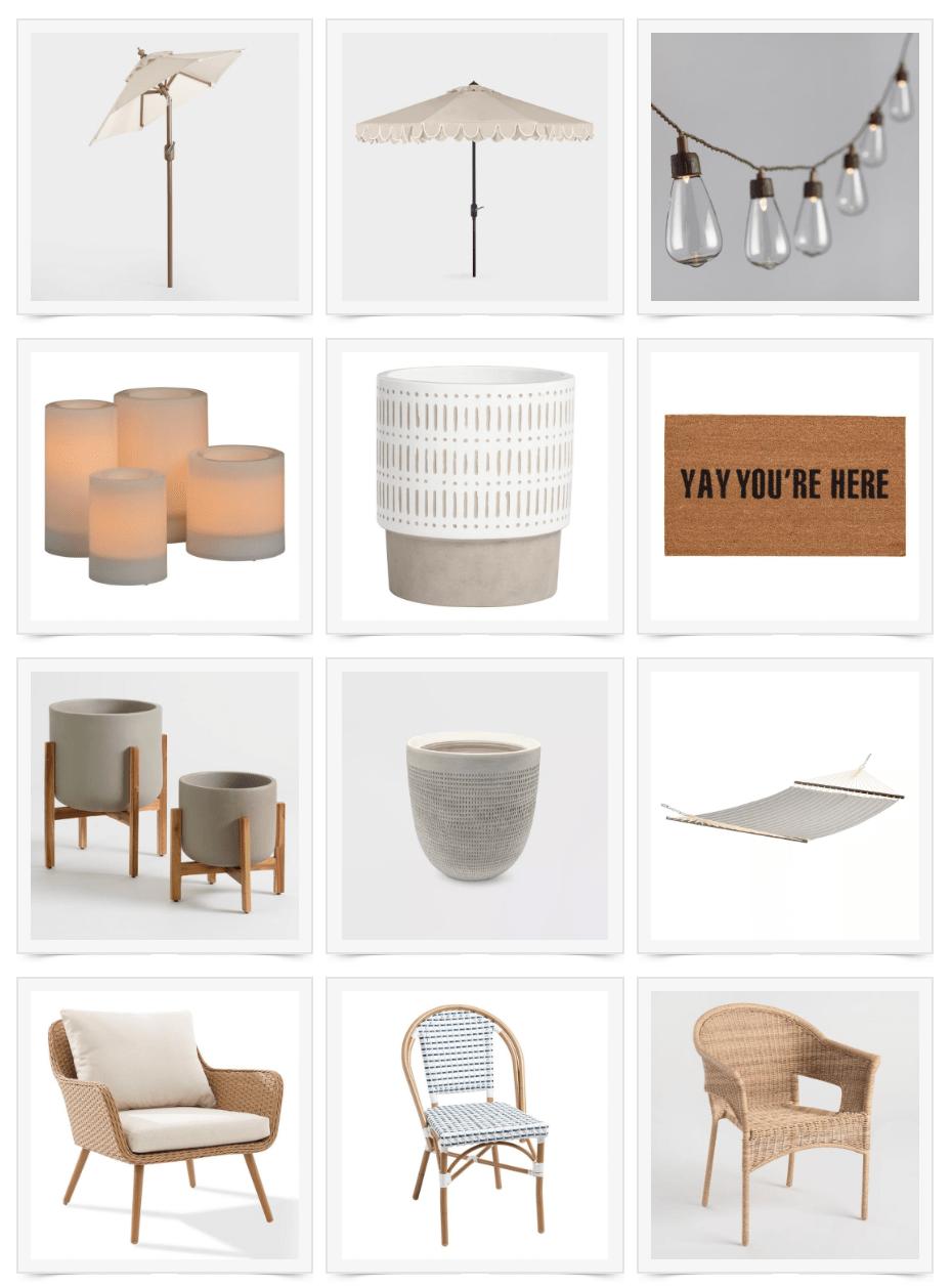 patio furniture sale round up