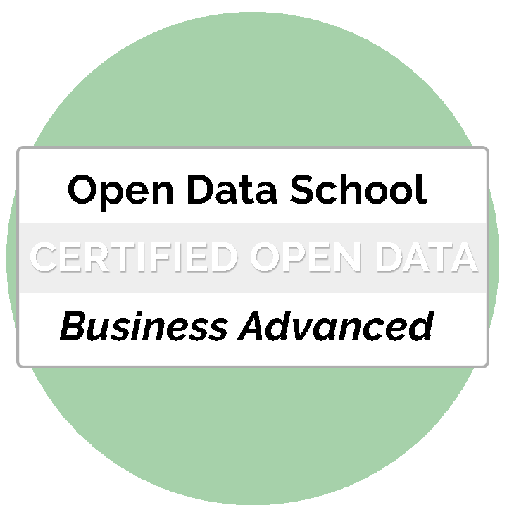 25/4 Certificat Business Advanced Professional Open Data (Abril/Maig) Image