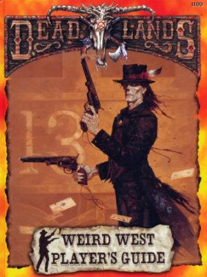 Capa do livro Deadlands: um rpg com cowboys, magos e zumbis!