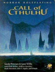 Call of Cthulhu capa da sexta edição