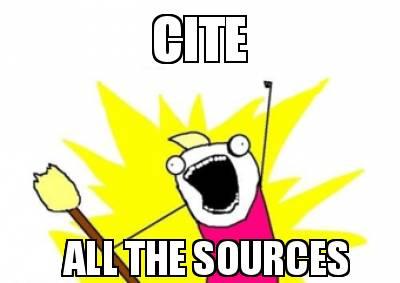 Cómo citar las fuentes