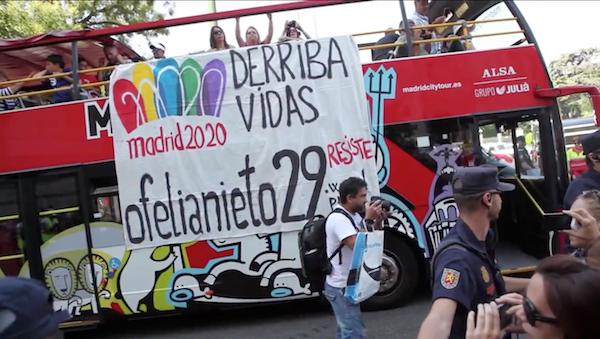 #OfeliaResiste, documentado por Jaime Alekos