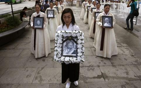 """Recordatorio de las """"Comfort women"""" koreanas en Korea del Sur (Kim Hong-Ji)"""