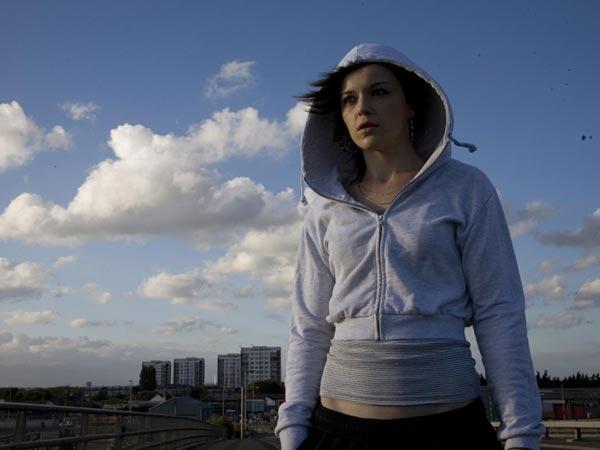La actriz Katie Jarvis en Fish Tank