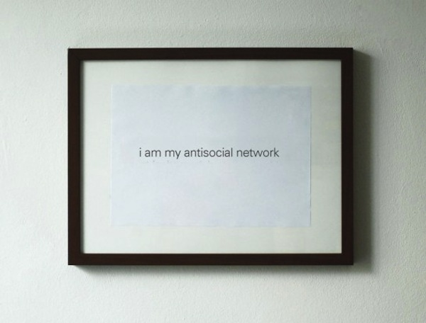 I am my antisocial network