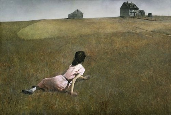 """Christina's World"" de Andrew Wyeth."