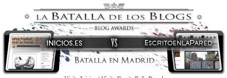 Imagen de La batalla de los blogs en Madrid