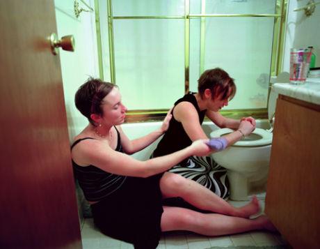 Imagen de Kelli Connell de la serie sobre la sexualidad y el género