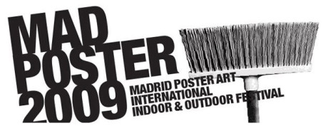 Logo del Madrid Poster Art 2009