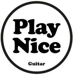 Play Nice Guitar People