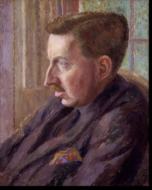 Stock image of writer E. M. Forster