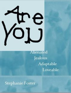 Virtual cover for novella and short story collection Are You