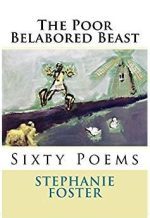 Virtual cover for poetry collection The Poor Belabored Beast