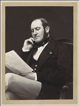 Stock photo of Baron Haussmann who redesigned Paris