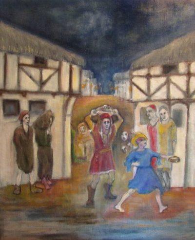 The Impresario dance scene art for part three