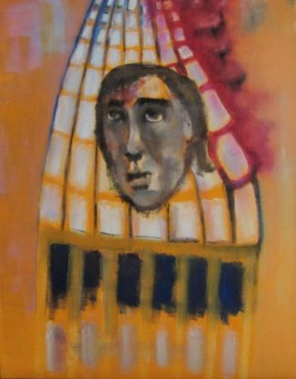 Uncollected Poems burning high rise building art for poem Sheila What's Happening to Us