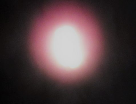 Stylized photo of glowing orb