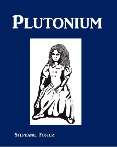 Future Projects virtual cover design for novel Plutonium