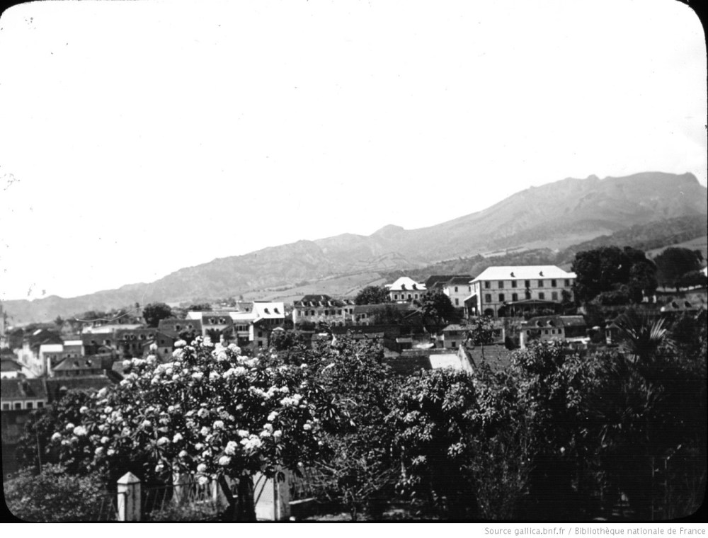 Public domain photo of Saint-Pierre when thriving