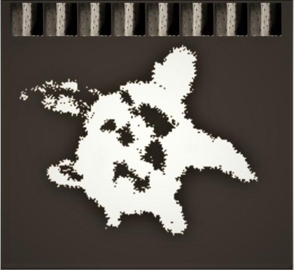 Digital image of turtle