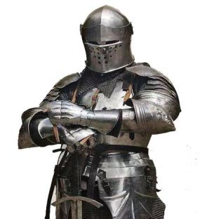 Creative Commons photo of knight in armor